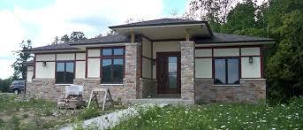 prairie style home chris kathy s custom prairie style home ubuildit