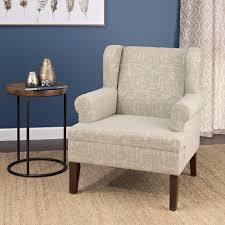 Wingback Accent Chair Homepop Emerson Wingback Accent Chair Homepop