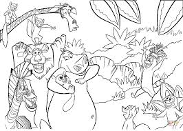 island lemurs coloring free printable coloring pages