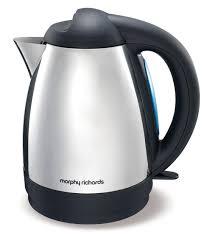 morphy richards essentials 1 5l jug kettle polished stainless