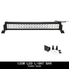 Best Led Offroad Light Bar by Amazon Com Topcarlight 24inch 120w Led Work Light Bar Flood Spot