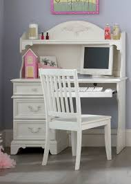White Study Desks by Retro White Painted Pine Wood Girls Study Desk With Traditional