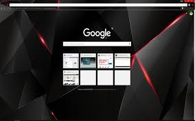 wallpaper upload on google black red shards chrome web store