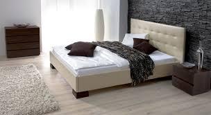 Schlafzimmer Beige Rot Kunstleder Bett In überlänge Erhältlich Bett Ruby