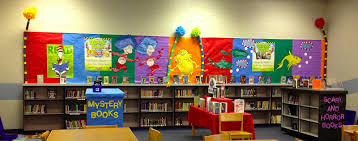 Horror Themed Home Decor by Library Learners Scholastic Book Fair Gets Seuss Y