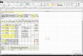 Travel Expense Spreadsheet Trucking Spreadshee Nbd