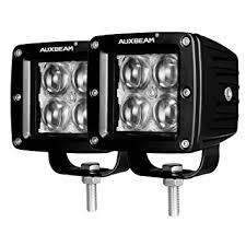 Led Lights Amazon Amazon Com Auxbeam 3 Inch Led Light Bar 20w Philips Led Pods Fog