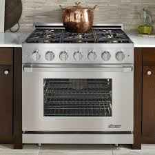 Gas Cooktop Sears Dacor Rnrp36gslp 36 Inch Freestanding Gas Range With 6 Sealed