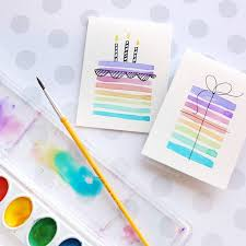 cards for birthday easy diy birthday cards using minimal supplies easy diy birthday