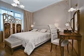 moscow apartment with floral ornament of interior home building