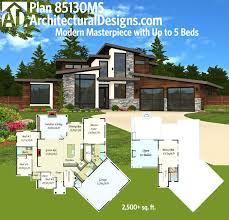 modern house floor plan architecture two storey villas modern house designs homes design