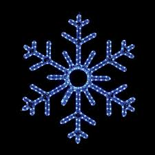 lighted snowflakes outdoor sacharoff decoration