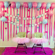 decor room for birthday