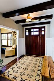 what is the name of the tan paint color in the foyer