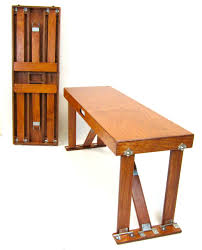 Fold Up Table Hinges Hand Crafted Folding Benches Spiderlegs