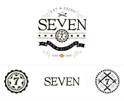 Kitchen Logo Design Seven Bar U0026 Kitchen Sltwtr Creative Agency