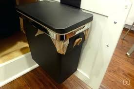 trash cans for kitchen cabinets kitchen cabinet trash can the best small trash cans the for fresh