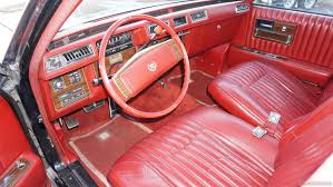 pink car interior 1977 cadillac seville interior review classic car video for sale