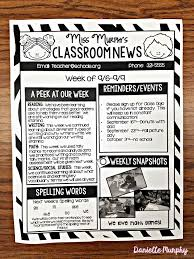best 25 preschool newsletter templates ideas on pinterest