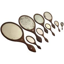 collection of 19th century hand mirrors at 1stdibs