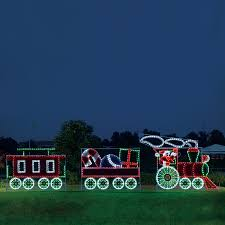 Outdoor Xmas Decorations by Shop Holiday Lighting Specialists 10 Ft Animated Santa U0027s Train