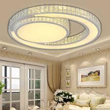 modern led ceiling lights acrylic living room bedroom crystal