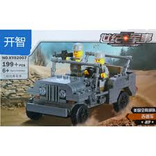 military jeep aliexpress com buy kazi building block century military jeep car