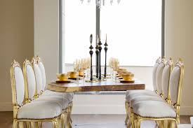 Carlyle Dining Room Set Luxury Penthouse In The Carlyle Residences By Premier Stagers