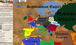 Map My Friends Imperial An Alternatively Historical Mapping Series Imaginarymaps