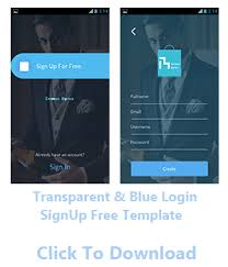free on android free android templates android app design app templates