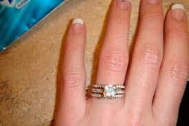 2 wedding bands 3 ring what where when weddingbee