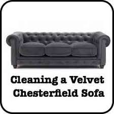 cleaning a chesterfield sofa