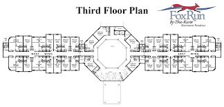 Retirement Floor Plans Fox Run By The River Floor Plans