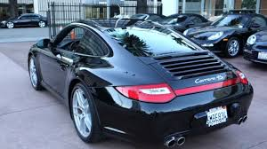2010 porsche 911 4s coupe pdk black on black leather