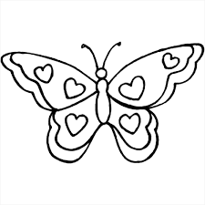 butterflies hearts coloring pages free coloring pages