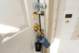How To Unlock Bathroom Door Without Key How To Remove A Locked Door From The Hinges Clark Howard
