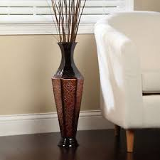 home and floor decor metal vase new floor decor decorative large home office spa