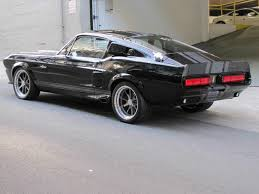 Black Mustang 1967 1967 Ford Mustang Fastback Restomod Raven Black 289 Auto See