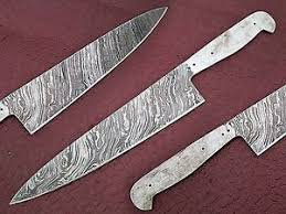 custom made kitchen knives custom made damascus pattern 2 3mm thick kitchen knife