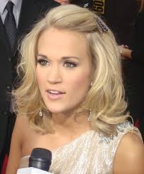 celebrity hairstyle carrie underwood updo hairstyle