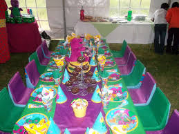 Diy Barney Decorations 1st Birthday Barney Decorations Image Inspiration Of Cake And