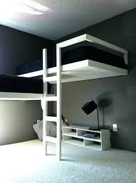 modern bunk bed modern bunk beds trendy gender neutral medium tone wood floor kids