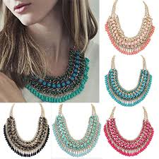 statement chain necklace images Chunky chain statement necklace la necklace jpg
