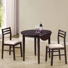 shop coaster fine furniture cappuccino white dining set with round