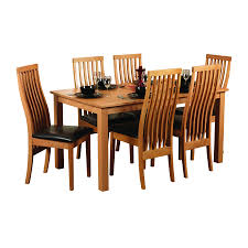 Dining Table Sets Oak by Furniture Chic Hardwood Dining Set Attractive And Nice Wood