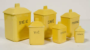 yellow kitchen canister set canister sets bed bath and beyond glass canisters with wood lids