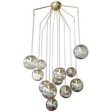 Grey Glass Chandelier Murano Smoked Grey Glass Chandelier For Sale At 1stdibs