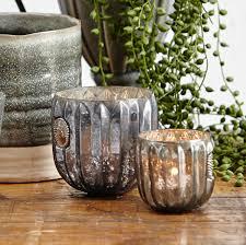 Accessorize Your End Table With Silver Vases And Votives by Lene Bjerre Antique Silver Dante Votive Set Tutti Decor Ltd