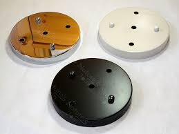 3 light canopy kit 150mm 5 9 three holes ceiling canopy mounting kit 3