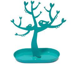 oiseaux en metal présentoir arbre porte bijoux en metal nature oiseau bleu 4319